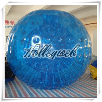 High Quality Newest Blue Colour PVC/TPU Inflatable Zorb Ball Inflatable Touch Ball Bubble Football