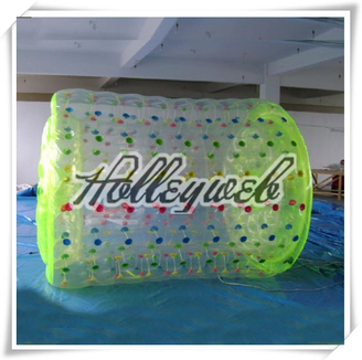 PVC/TPU Jumbo Inflatable Water Roller Walk On Water Balls For Sale