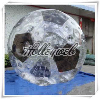 High Quality PVC/TPU Inflatable Soccer Zorb Ball  Inflatable Touch Ball Bubble Football