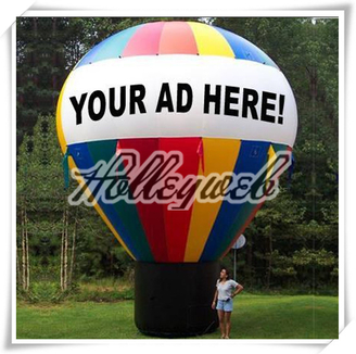 Inflatable Ice Cream Or Ground Balloon Or Inflatable Airship Advertising Balloon Inflatable