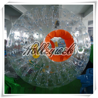 Orange Inflatable Body Zorb Balls for Sale / Cheap Aqua Zorbing Ball Price / Inflatable Zorb Ball
