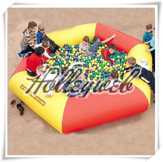 Giant Inflatable Pool For Water Balls/ Inflatable Hamster Ball Pool