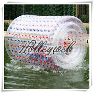 Commercial Inflatable Water Roller, Inflatable Roller Ball For Water Games