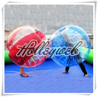 Outdoor Attractive Promotional Bubble Football Inflatable Bubble Soccer Body Zorb Ball 2 Colour Available