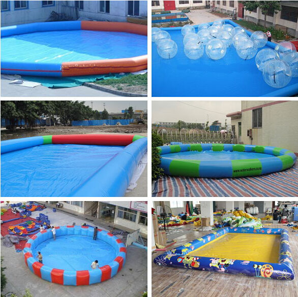 Hot Selling Zorb Inflatable Pool /Inflatable Adult Swimming Pool/Inflatable  Swimming Pool